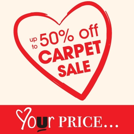 Carpet Sale With Up To 50% Off