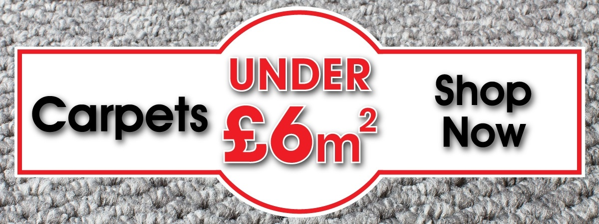 Carpets Under £6sqm