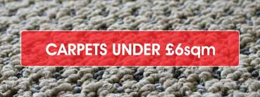 Cheap Carpets Under £6sqm