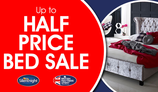 Beds Sale Up To 50% Off