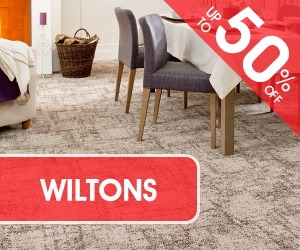 Woven Wilton Carpets On Sale