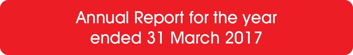 Annual Report for the year ended 31 March 2017