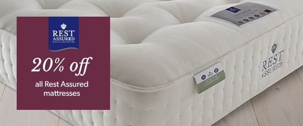 Big Brand Sale - 20% Off Rest Assured Mattresses