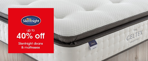 Big Brand Sale - Up To 40% Off Silentnight Divans And Mattresses