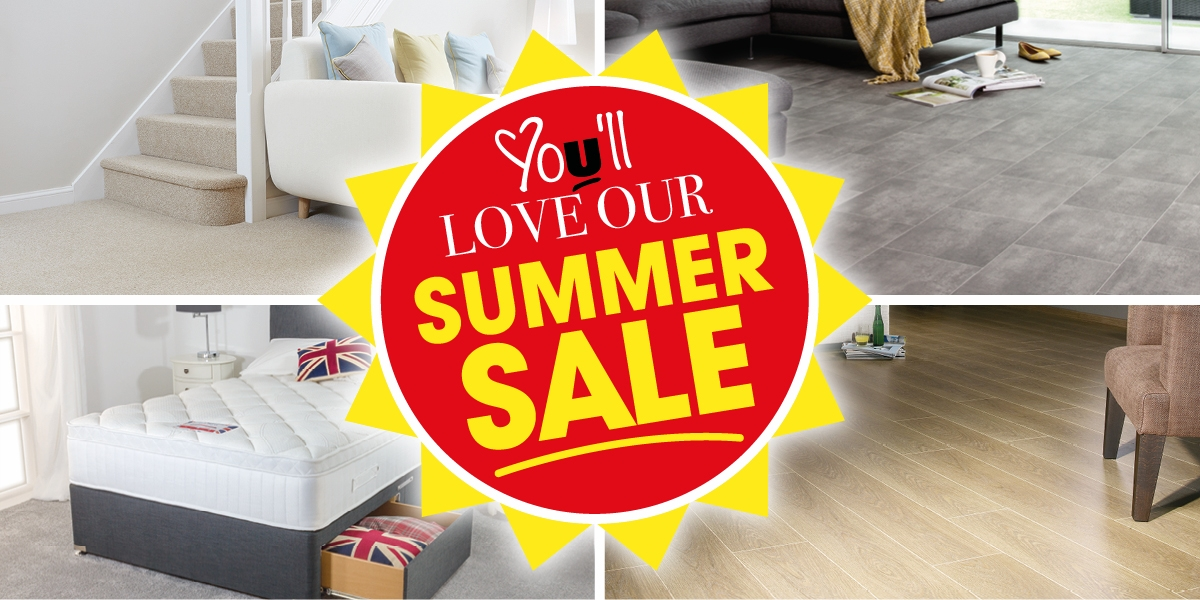 Summer Sale Up To Half Price - Now On!